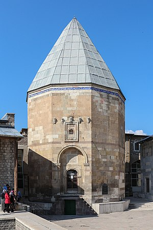 Kilij Arslan II - The Tomb of Kilij Arslan II in the courtyard of Alâeddin Mosque, Konya