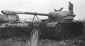 United Shoe Machinery Corporation - T54E1 medium tank, designed and constructed by the United Shoe