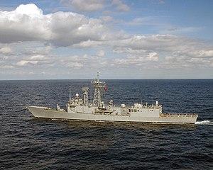 USS John A. Moore (FFG-19) - Gediz