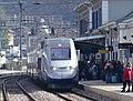 TGV d'hiver pour Paris arrivant à Moûtiers (2018).JPG