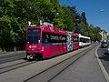 """TPG Tram Düwag-Vevey Be 4-6 803 """"Université de Genève"""" N° 1 (26223296034).jpg"""