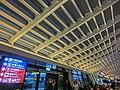 TW 台灣 Taiwan 桃園國際機場 Taoyuan International Airport TPE interior ceiling Feb-2013.JPG