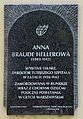 Tablica pamiatkowa Anna Braude-Hellerowa.JPG