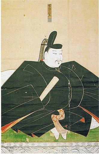 Taira no Tomomori - Portrait of Taira no Tomomori.