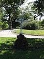 Taller (Landes) croix blanche, hameau Rey.JPG