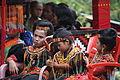 Tana Toraja, Salu funeral, young relatives of the deceased (6969302113).jpg
