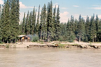 Tanana Athabaskans - Image: Tanana River Chena Indian Village
