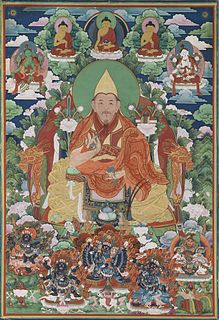 Important Buddhist teacher in the Qing court.