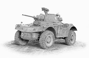 Coventry armoured car - Image: Tanks and Afvs of the British Army 1939 45 STT7382