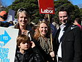 Tanya Plibersek, Louise Pratt & Stephen Jones 2011.jpg