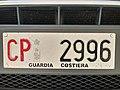 Targa anteriore di un veicolo della Capitaneria di Porto di Venezia.jpg