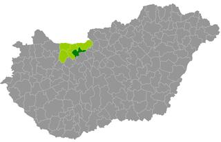 Tatabánya District Districts of Hungary in Komárom-Esztergom