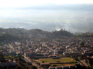 A view of Taunggyi