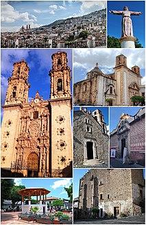 Taxco City in Guerrero, Mexico