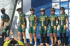 Team South Africa WK Valkenburg 2012.jpg