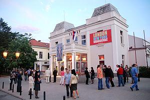 Knjaževsko-srpski teatar - Image: Teatar Кragujevac