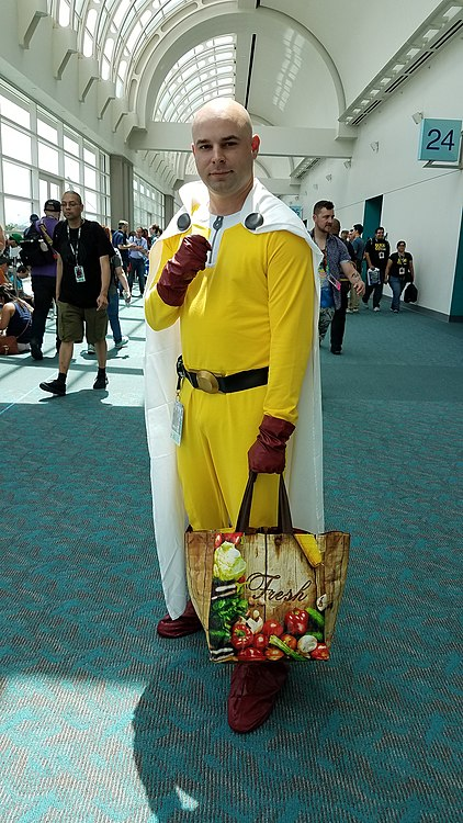 Ted Visser as Saitama, One Punch-Man 20180721a.jpg