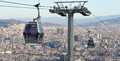 Telefèric de Montjuïc cars in Barcelona Spain.png