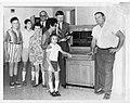 Telephone Switchboard with Ellery Thompson (27931387233).jpg