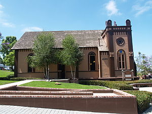Congregation Beth Israel (San Diego) - Temple Beth Israel is San Diego's first synagogue. It is located in Heritage Park in San Diego's Old Town area. The first services held here were on September 25, 1889.