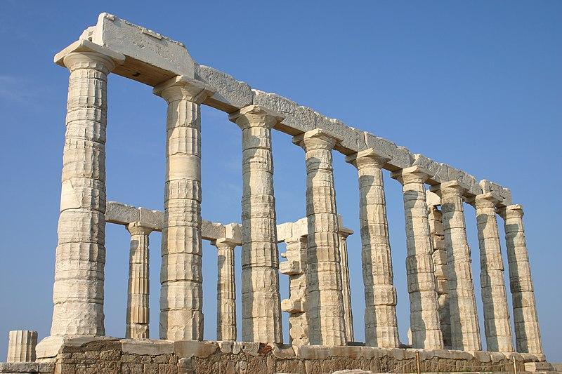 Religijska kulturna bastina kroz vekove 800px-Temple_of_Poseidon