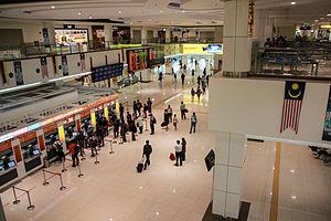Terminal Bersepadu Selatan - Inside the terminal