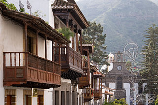 Teror Municipality in Canary Islands, Spain