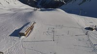 Файл:Test area of WSL Institute for Snow and Avalanche Research SLF, Weissfluhjoch, aerial video.webm