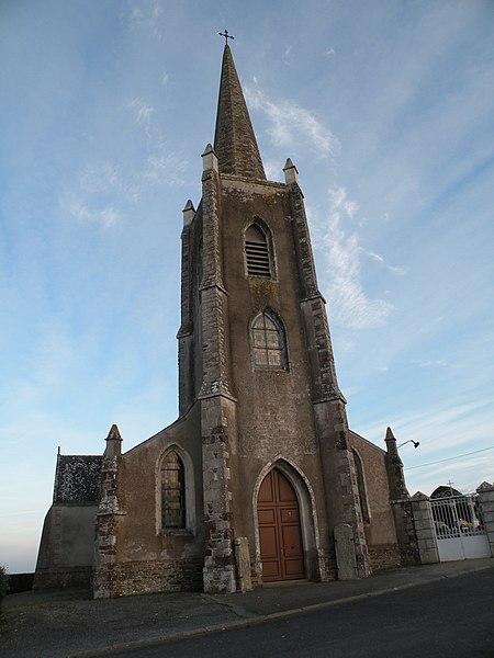 Église Saint-Pierre-du-Moutier de Théhillac.