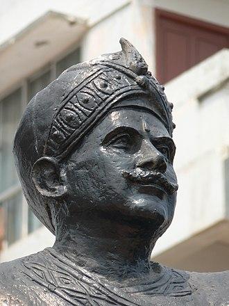 Bobbili - Statue of Thandra Paparayudu at RK Beach