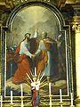 Thaya Pfarrkirche - Hochaltar 2 Abschied Peter Paul.jpg