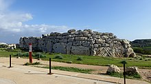 The Ġgantija Temples as seen from the west.jpg