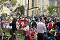 The Black Prince Procession gathering outside the Rising Sun - geograph.org.uk - 789508.jpg
