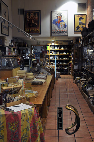 The Cheese Store of Beverly Hills - Inside the Cheese Store of Beverly Hills in 2015.