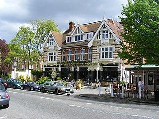 pub in Dulwich, London