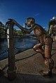 The First Generation (2000, detail) by Chong Fah Cheong, Cavenagh Bridge, Singapore - 20080501.jpg
