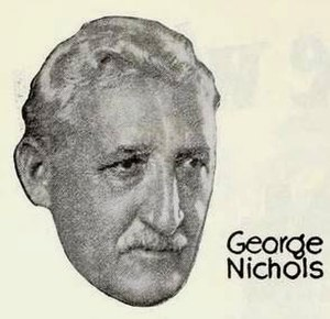George Nichols (actor) - Nichols from an ad for The Flirt (1922)