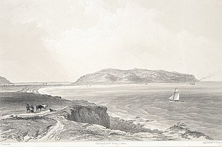 The Great Orme's Head, Conway and Llandudno bays.(from the lesser Ormes Head)