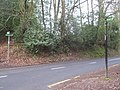 The Greensand Way crosses Mapleton Road - geograph.org.uk - 1754251.jpg