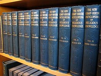 Schaff–Herzog Encyclopedia of Religious Knowledge - A set of The New Schaff-Herzog Encyclopedia of Religious Knowledge.