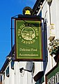 The Olde Church Tavern (2) - sign, North Baileygate, Pontefract (geograph 5553851).jpg