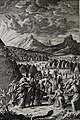 The Phillip Medhurst Picture Torah 398. The Israelites collect manna. Exodus cap 16 v 20. Fridrich.jpg