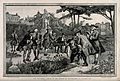 The Physic Garden, Chelsea; men botanizing in the garden, ne Wellcome V0012954.jpg