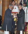 The President, Shri Pranab Mukherjee presenting the Padma Shri Award to Shri Sanjay Leela Bhansali, at a Civil Investiture Ceremony, at Rashtrapati Bhavan, in New Delhi on March 30, 2015.jpg