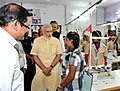 The Prime Minister, Shri Narendra Modi interacting with the students, at Livelihood College, in Dantewada, Chhattisgarh on May 09, 2015. The Chief Minister of Chhattisgarh, Dr. Raman Singh is also seen (1).jpg