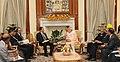 The Prime Minister, Shri Narendra Modi meeting the Prime Minister of Mauritius, Mr. Anerood Jugnauth, in New Delhi on October 30, 2015 (2).jpg