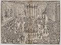 The Princely Meal (Die Fürstliche Mahlzeit), from a series depicting the wedding of Wolfgang Wilhelm, Duke of Pfalz-Neuberg, Pfalzgraf, and Magdalena, Duchess of Bavaria, in Munich, 1613 (Plate 7) MET DP874839.jpg