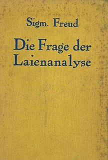 <i>The Question of Lay Analysis</i> book