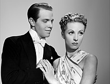 Hayward amb Danielle Darrieux, a The Rage in Paris (1938)