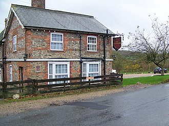 Axford, Wiltshire - Image: The Red Lion Inn, Axford geograph.org.uk 1635199